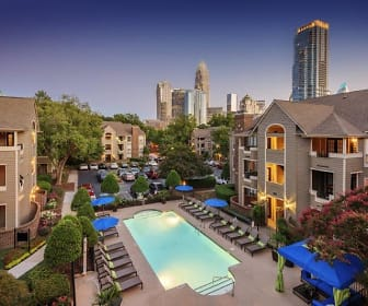 Pool, Uptown Gardens Apartments