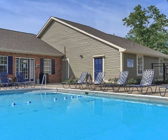 Pool, 860 East Apartments & Townhomes