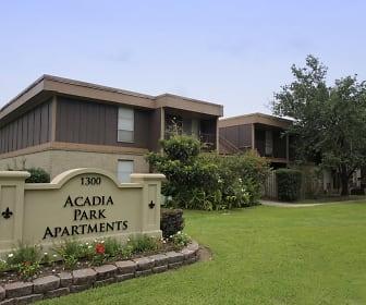 Community Signage, Acadia Park Apartments