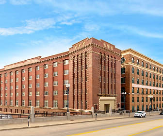 Old Market Lofts, The West End, Council Bluffs, IA