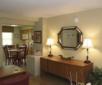 Living Room, Kingston Townhomes