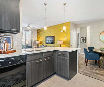 Kitchen, Millennium Apartment Homes