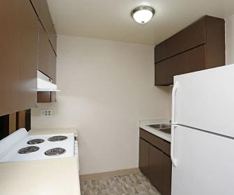 Kitchen, Windcrest Apartments