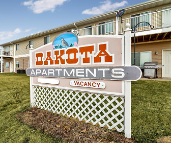 Community Signage, Dakota B Apartments