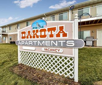 Community Signage, Dakota B Apartments