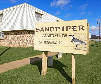 Community Signage, Sandpiper Apartments
