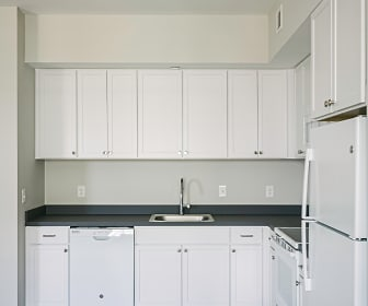 Kitchen, Forest City Apartments