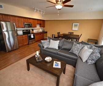 Living Room, Market Street Flats
