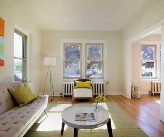 Living Room, Harbor View Luxury Apartments