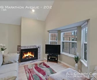 Living Room, 4209 Marathon Avenue - 202