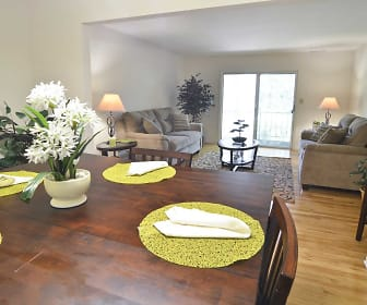 Dining Room, Woodmere Apartments