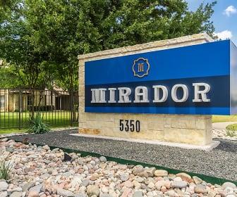 Community Signage, Mirador Apartment Homes