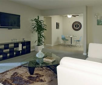 Living Room, Rivercrest Apartments