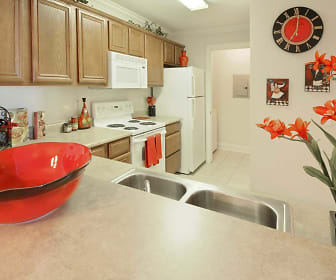 Kitchen, Boardwalk Place of Denham Springs