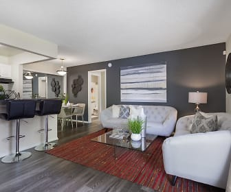 Living Room, The Vue at Baymeadows