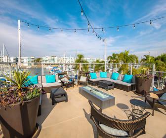 Harborside Marina Bay Apartments, Antioch University Los Angeles, CA