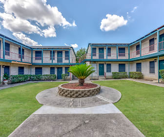 Courtyard, Tara Apartments