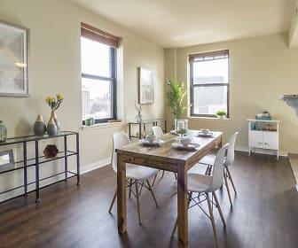 The Grand Wisconsin Apartments, Kilbourn Town, Milwaukee, WI