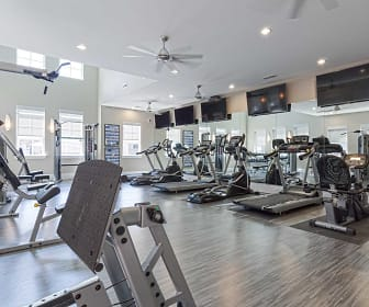 Fitness Weight Room, Keystone at Walkertown Landing Apartments
