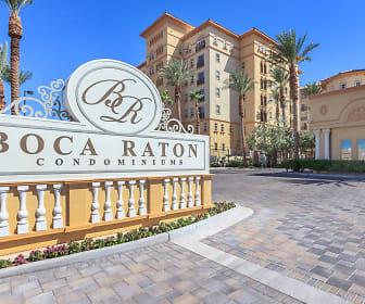 Community Signage, Boca Raton Condominium