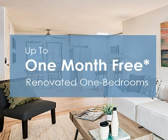 Up to one month free* on renovated one-bedrooms, Meadows
