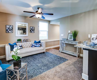 Living Room, Lakeview Crossing Townhomes