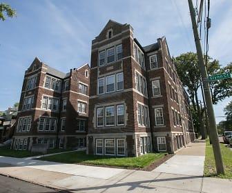 Building, Boston Court Detroit