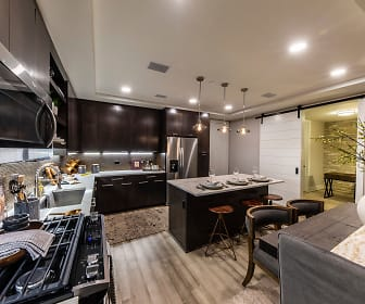 Model Kitchen and Dining, Gables Residences
