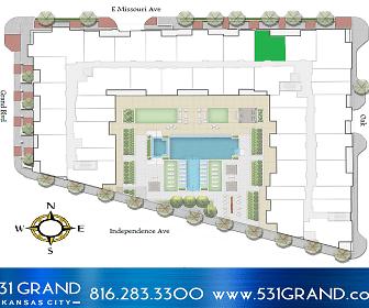 531 Grand Boulevard, River Market North On 3Rd St At Grand - KCATA, Kansas City, MO