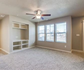 Living Room, Cedar Park Apartments