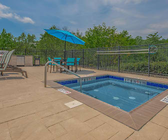 Pool, Crown Point Apartments