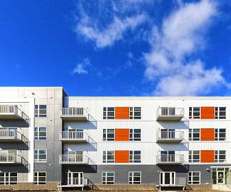 Lumber Exchange Apartments, University of North Dakota, ND