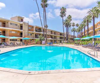 Pool, Diplomat Park Apartments