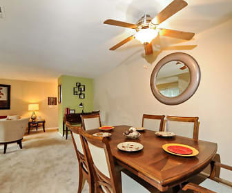 Dining Room, Cedar Gardens & Towers Apartments & Townhomes