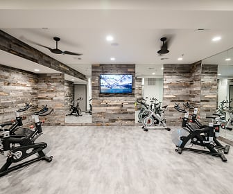 Fitness Weight Room, Adley City Springs