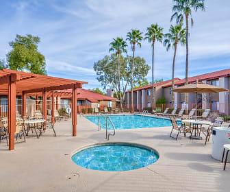 Pool, Desert Shadows