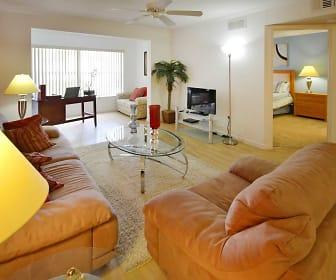 Living Room, Treasure Cay Apartments