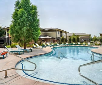 view of swimming pool featuring a pergola, The Villas at Wilderness Ridge