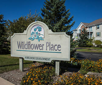 Community Signage, Wildflower Place Apartments