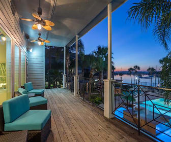 Balcony with Pool and Sunset Views, Hidden Lake