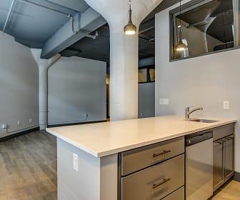 Living Room, AP Lofts at Larkinville