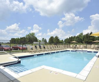 take a dip, Parkside Trace Apartments