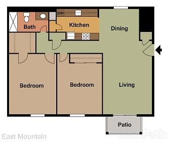 East Mountain Apartments, Pittston, PA