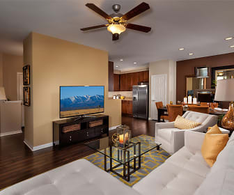 Living Room, The Enclave at Homecoming Terra Vista