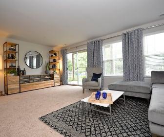 Living Room, The Village of Barretts Run & The Retreat