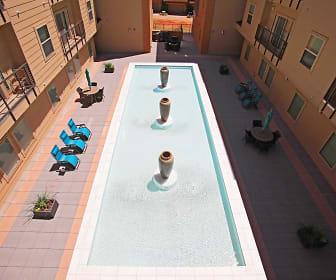 Courtyard, The Maywood