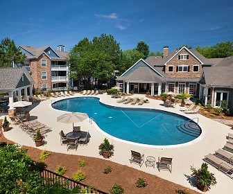 Pool, Bexley Crossing At Providence Luxury Apartments