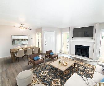 Living Room, Cross Creek Ranch
