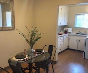Kitchen, The Zelma Apartments
