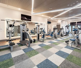 Fitness Weight Room, Hebron 121 Station